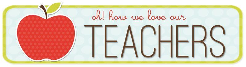 teacher appreciation week clip art - photo #45