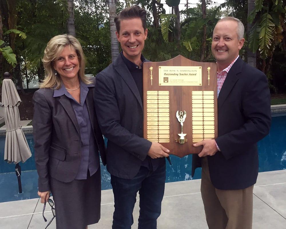 Justin Eick - Rose Harrington Award Winner