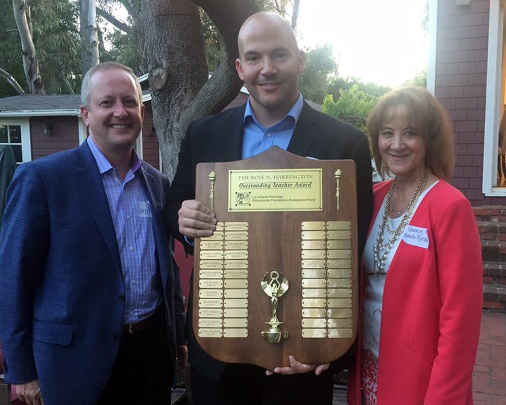 Justin Vallasidis - Rose Harrington Award Winner