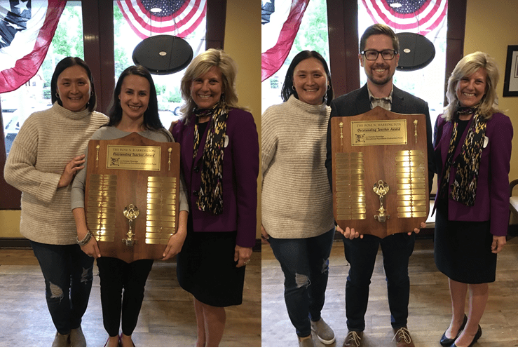 2018-19 Rose Harrington Educators of the Year Named