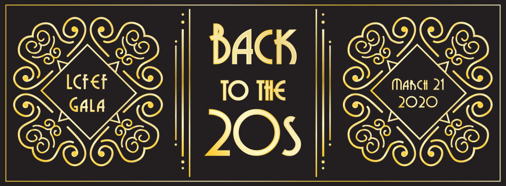 LCFEF Gala 2020, Back to the 20s